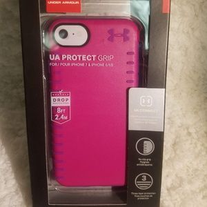 Under Armour phone case for iphone X - pink/purple